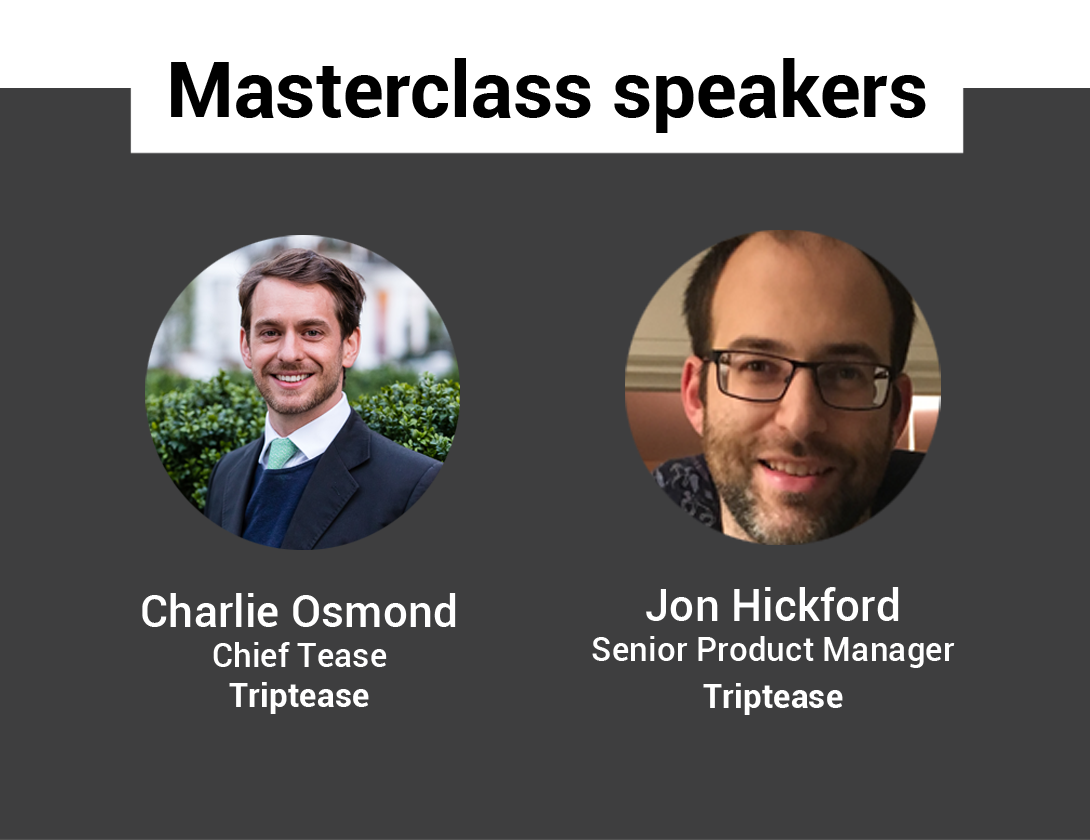 Triptease Metasearch Masterclass Speakers